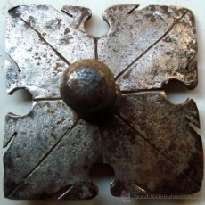 Antigüedades: CLAVO O TETON DE HIERRO FORJADO DEL S.XVIII. Lote 67123725
