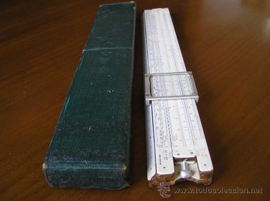 Antigüedades: REGLA DE CALCULO P.I.C PAT.Nº 2411090 THORNTON MADE IN ENGLAND SLIDE RULE CALCULADORA RECHENSCHIEBER - Foto 2 - 28721717