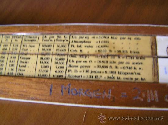 Antigüedades: REGLA DE CALCULO P.I.C PAT.Nº 2411090 THORNTON MADE IN ENGLAND SLIDE RULE CALCULADORA RECHENSCHIEBER - Foto 12 - 28721717