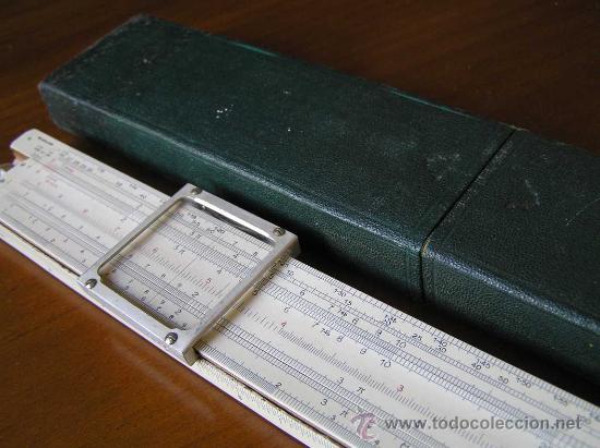 Antigüedades: REGLA DE CALCULO P.I.C PAT.Nº 2411090 THORNTON MADE IN ENGLAND SLIDE RULE CALCULADORA RECHENSCHIEBER - Foto 35 - 28721717