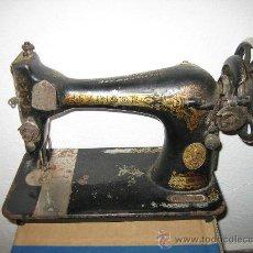 Antigüedades: MAQUINA DE COSER SINGER. Lote 28746082