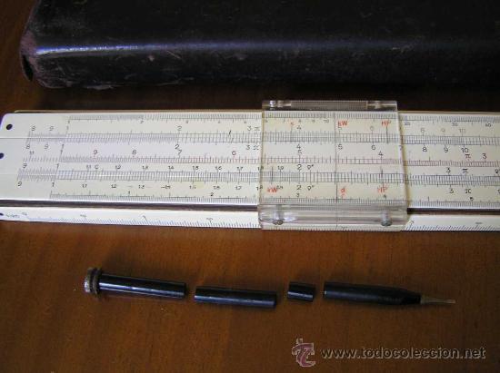Antigüedades: REGLA DE CALCULO FABER CASTELL ADDIATOR 1/87A CON CALCULADORA ADDIATOR - SLIDE RULE RECHENSCHIEBER - - Foto 6 - 28803371
