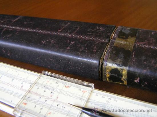 Antigüedades: REGLA DE CALCULO FABER CASTELL ADDIATOR 1/87A CON CALCULADORA ADDIATOR - SLIDE RULE RECHENSCHIEBER - - Foto 38 - 28803371