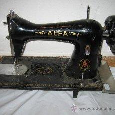 Antigüedades: MAQUINA DE COSER ALFA. Lote 28863571