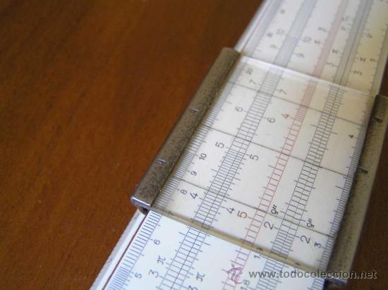 Antigüedades: REGLA DE CALCULO A.W. FABER CASTELL 1/87 SYST. RIETZ AÑOS 40 CALCULADORA SLIDE RULE RECHENSCHIEBER - Foto 12 - 137123658