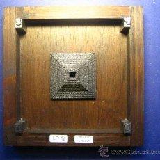 Antigüedades: IMPRENTA CUADRO COLLAGE TIPOGRAFICO - PIEZA UNICA - 15X15 CM - REF. LP-16 - VER FOTOS. Lote 28854938