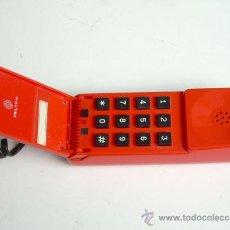 Teléfonos: TELÉFONO ROJO DE TELEFÓNICA, EN FUNCIONAMIENTO. Lote 28920572