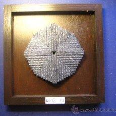 Antigüedades: IMPRENTA CUADRO COLLAGE TIPOGRAFICO - REF. LG 6 - TAMAÑO 20X20 - VER FOTOS. Lote 28923228