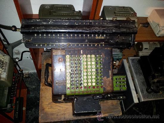 MÁQUINA CALCULADORA RHEINMETALL (Antigüedades - Técnicas - Aparatos de Cálculo - Calculadoras Antiguas)