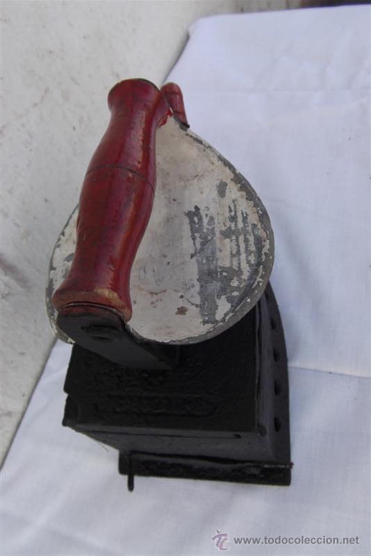 Antigüedades: plancha antigua - Foto 2 - 28998715