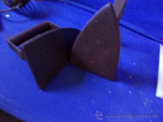 Antigüedades: plancha nº 4 -S de hierro - Foto 3 - 29017053