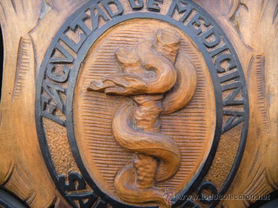 Antigüedades: ORLA DE MUSEO. FACULTAD DE MEDICINA SANTIAGO DE COMPOSTELA CURSO 1944 - 45 - Foto 10 - 29113859