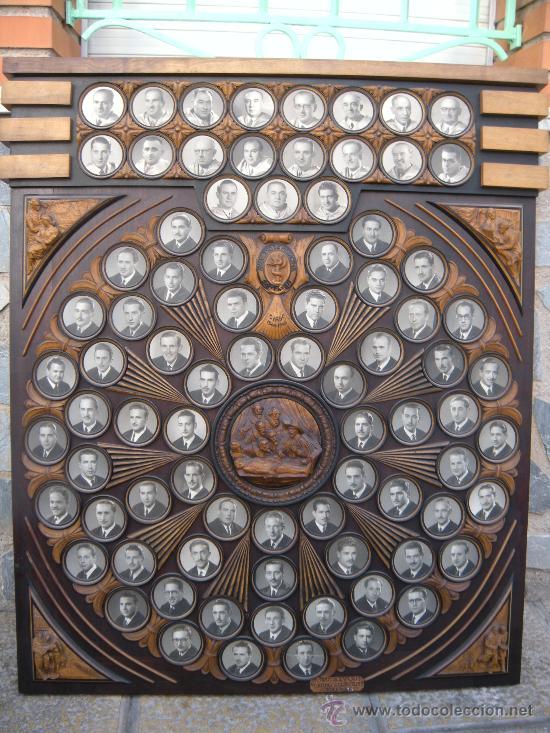 ORLA DE MUSEO. FACULTAD DE MEDICINA SANTIAGO DE COMPOSTELA CURSO 1944 - 45 (Antigüedades - Antigüedades Técnicas - Marinas y Navales)