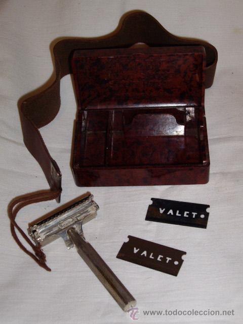 Antigüedades: VALET - MAQUINILLA AFEITAR - INGLESA - CAJA BAQUELITA - - Foto 6 - 29119442