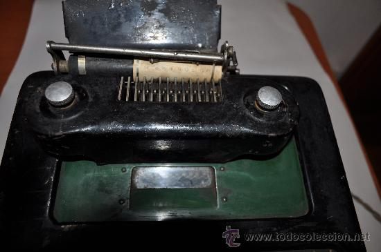 Antigüedades: REGISTRADORA CALCULADORA BARRETT DESLE ELECTRIC - Foto 7 - 29229452