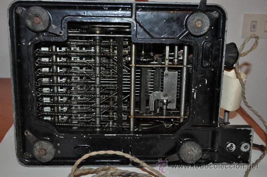 Antigüedades: REGISTRADORA CALCULADORA BARRETT DESLE ELECTRIC - Foto 5 - 29229452