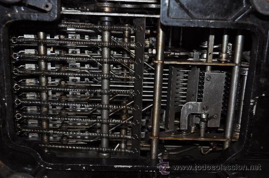 Antigüedades: REGISTRADORA CALCULADORA BARRETT DESLE ELECTRIC - Foto 9 - 29229452