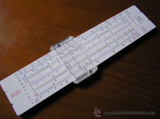 REGLA DE CALCULO ARISTO STUDIO 868 UNA PEQUEÑA GRAN CALCULADORA RECHENSCHIEBER KEISANJYAKU (Antigüedades - Técnicas - Aparatos de Cálculo - Reglas de Cálculo Antiguas)