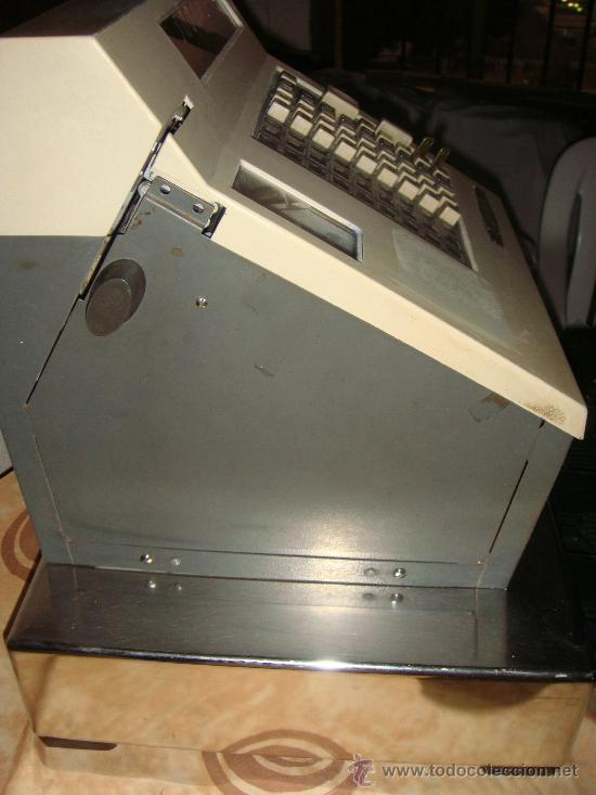 Antigüedades: caja registradora sweda, años 60, - Foto 5 - 175856144