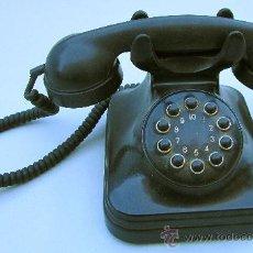 Teléfonos: TELÉFONO DE BAQUELITA DE BOTONES. Lote 29242268