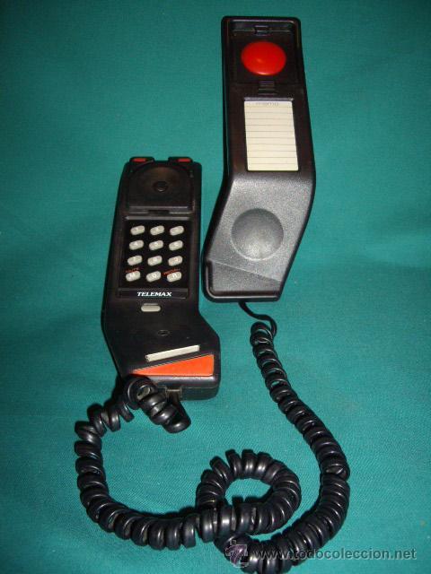 TELEFONO TIPO GONGOLA - ORIGINAL - (Antigüedades - Técnicas - Teléfonos Antiguos)