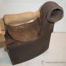 Antigüedades: PLANCHA DE CHIMENEA - ESCUDO ESVASTICA. Lote 29277895