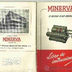 Antigüedades: LIBRO DE INSTRUCCIONES DE LAS MÁQUINAS TIPO ODHNER EN PDF. Lote 109085424