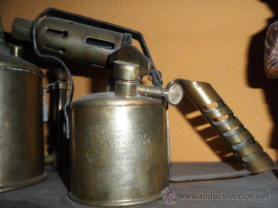 ANTIGUO SOLDADOR INGLÉS (Antigüedades - Técnicas - Herramientas Profesionales - Mecánica)