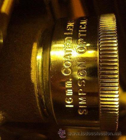 Antigüedades: PROYECTOR SONORO DE CINE 16 MM. AMPRO STYLIST SOUND PROJECTOR - MADE IN USA AÑOS 40/50 - Foto 4 - 29334782