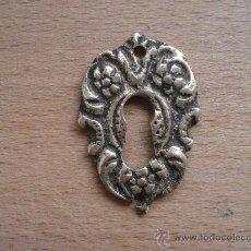 Antigüedades - BOCALLAVE BRONCE DORADO - 29359961