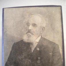 Antigüedades: ANTIGUO TROQUEL DE IMPRENTA DE PEDRO PALAU CARBONELL(BISBAL DEL PENEDES). Lote 29517507