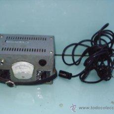 Antigüedades: APARATO ELECTRICO DE MEDIR MILLIAMPERES - RILO DETEKTOR - 11 CM DE ALTO X 19,5 CM ANCHO X 14 CM FOND. Lote 29554792