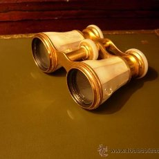 Antigüedades: PRISMATICOS O ANTEOJOS DE TEATRO ANTIGUOS DE NACAR . Lote 29579068