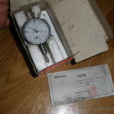 Antigüedades: EXCELENTE RELOG CONPARADOR MITUTOYO. Lote 29610973
