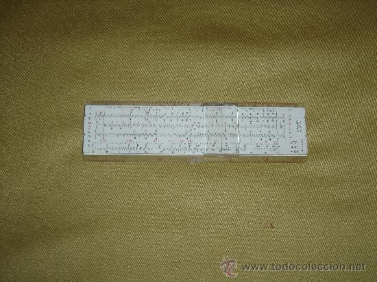 ANTIGUA REGLA DE CALCULO ARISTO-DARMSTADT NR. 867U. GERMANY. SOLO LA REGLA...SIN USAR. (Antigüedades - Técnicas - Aparatos de Cálculo - Reglas de Cálculo Antiguas)