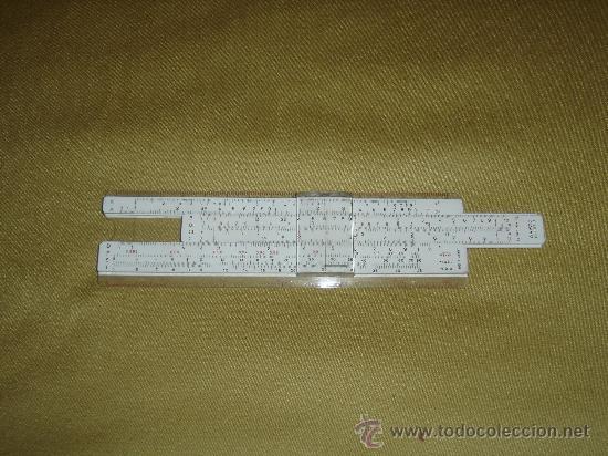 Antigüedades: ANTIGUA REGLA DE CALCULO ARISTO-DARMSTADT Nr. 867U. GERMANY. SOLO LA REGLA...SIN USAR. - Foto 2 - 29663208