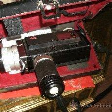 Antigüedades: ANTIGUA CAMARA SUPER 8 MINOLTA AUTOPAK - 8 / S6 - CON SU MALETIN ORIGINAL. Lote 29663804