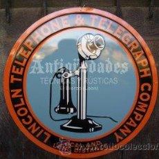 Teléfonos: TELEFONOS ANTIGUOS - CARTEL INFORMATIVO DE TELEFONO PUBLICO.. Lote 51133706