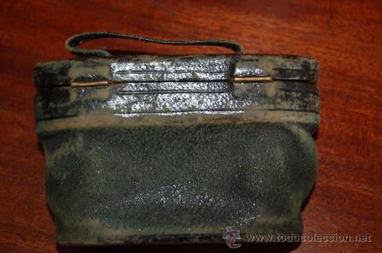 Antigüedades: Antiguos prismaticos de años 30s con funda. En nacar, preciosos. - Foto 6 - 29781520