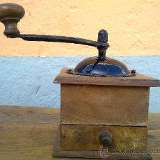 Antigüedades: ANTIGUO MOLINILLO DE CAFE EN MADERA.. Lote 29764005
