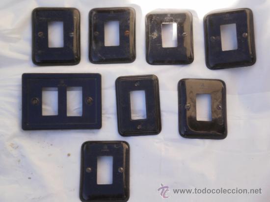 Lote de 8 embellecedores para interruptores o e comprar - Enchufes simon precios ...