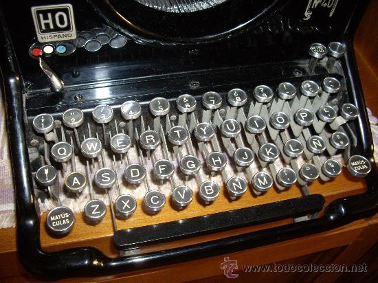 Antigüedades: Máquina escribir antigua Seminueva. - Foto 2 - 29872950
