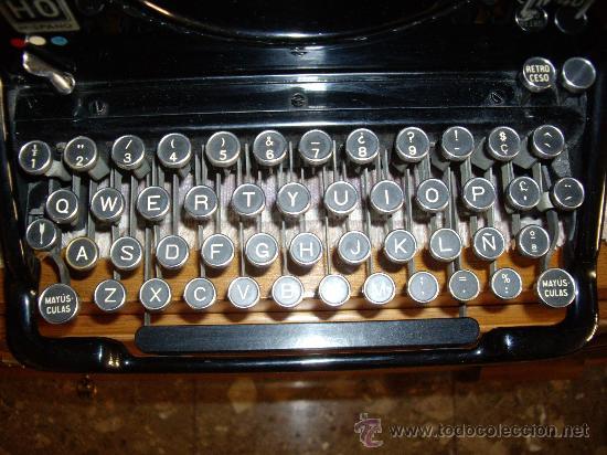 Antigüedades: Máquina escribir antigua Seminueva. - Foto 3 - 29872950