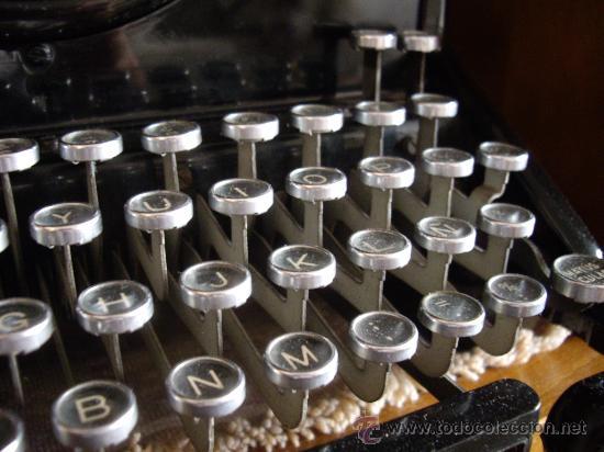 Antigüedades: Máquina escribir antigua Seminueva. - Foto 4 - 29872950