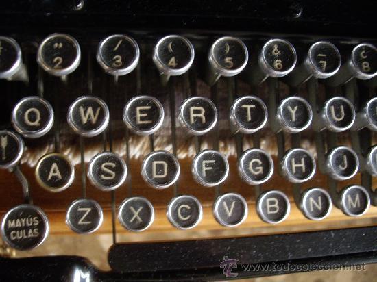 Antigüedades: Máquina escribir antigua Seminueva. - Foto 5 - 29872950
