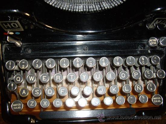 Antigüedades: Máquina escribir antigua Seminueva. - Foto 7 - 29872950