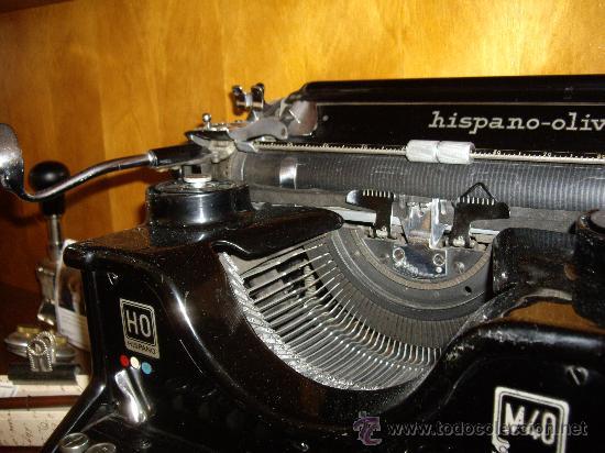 Antigüedades: Máquina escribir antigua Seminueva. - Foto 8 - 29872950