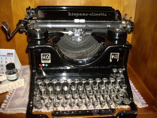 Antigüedades: Máquina escribir antigua Seminueva. - Foto 9 - 29872950