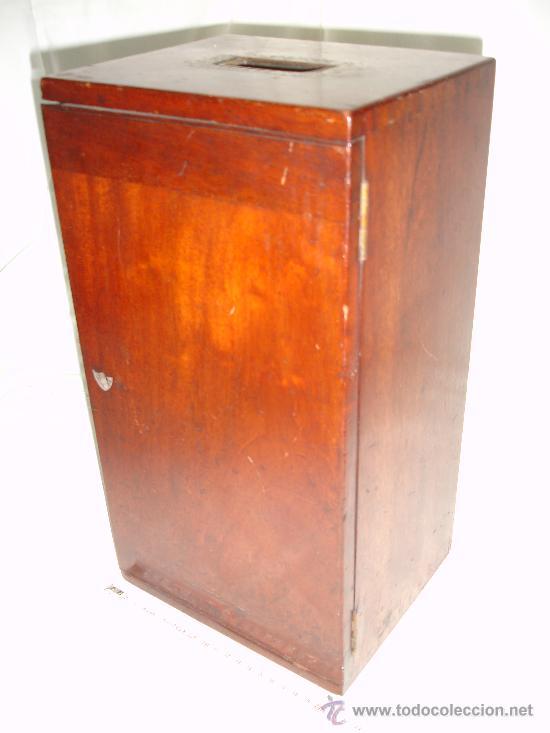 Antigüedades: Precioso microscopio Inglés / Alrededor de 1880 - Foto 3 - 30002757