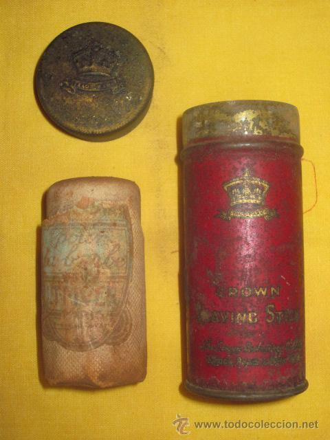 Antigüedades: ESPUMA DE AFEITAR / BARBERIA / ESPUMA / NAVAJA AFEITAR / AFEITADO - Foto 2 - 50285298